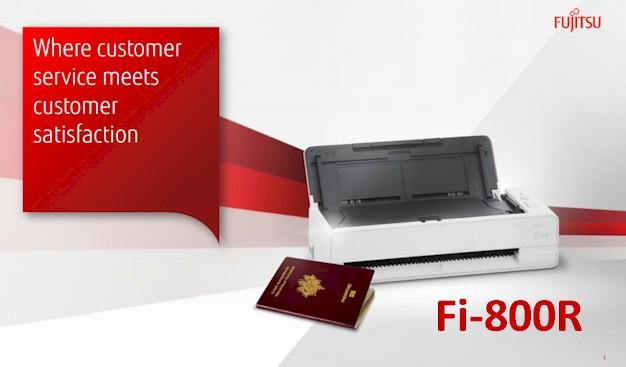 New Fujitsu Fi-800R